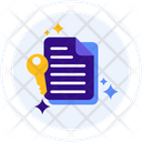 Smart Contracts Contracts Documentation Icon