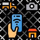 Smartphone Control Home Icon