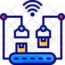 Smart Conveyor System Icon