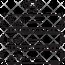 Smart Dataserver Database Datacenter Icon