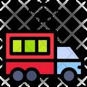 Smart Delivery Logistics Network Icon