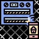 Smartphone Dessert Internet Icon