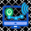 Wi Fi Wireless Surveillance Icon