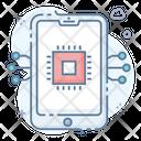 Mobility Mobile Development Mobile Chip Icon