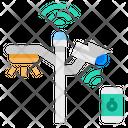 Light Lamp Electric Icon