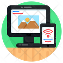 Smart Devices Internet Of Things Iot Icon