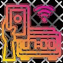 Digital Alarm Clock Smartphone Mobile Icon