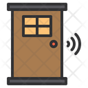 Smart Door Door Smart Icon