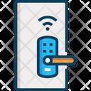 M Door Smart Door Smart Door Lock Icon
