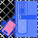 Smart Door Security Door Icon
