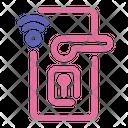Smart Door Handle Smart Door Lock Door Handle Icon