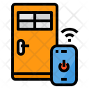 Smart Door Lock Icon