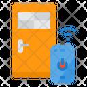 Smartphone Door Security Icon