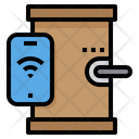 Door Lock Security Protection Icon