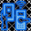 Smart Door Smartphone Mobile Icon