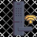 Door Lock Door Handle Internet Of Things Icon