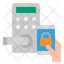 Smart Door Lock Icon