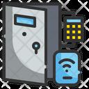 Smart Door Lock Door Control Icon