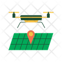 Smart Drone Fertilizer Icon