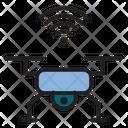 Drone Technology Camera Icon
