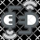 Digital Electric Socket Smart Electric Socket Icon