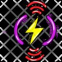 Smart Energy Wifi Charge Wireless Charging Icon
