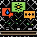 Plants Smart Farm Farm Icon