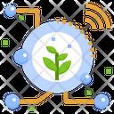 Smart Farm Digital Transformation Agriculture Revolution Iot Farming Technology Icon