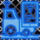 Tractor Smart Phone Wifi Icon