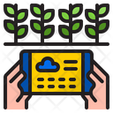 Smart Farming Farming Plant Icon
