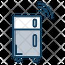 Smart Fridge Refrigerator Fridge Freezer Icon