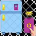 Smart Fridge Fridge Refrigerator Icon