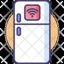 Smart Fridge Smart Refrigerator Refrigerator Icon