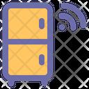 Smart Fridge Smart Refrigerator Fridge Icon