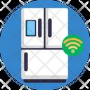 Smart Home Smart Fridge Refridgerator Icon