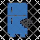 Fridge Refrigerator Signal Icon