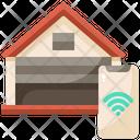 Smart Garage Garage Smart Icon
