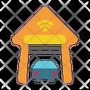 Smart Garage Garage Car Icon