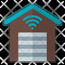 Smart Garage Garage Building Icon