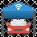 Smart Garage Car Wifi Icon