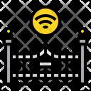 Gate Entrance Fence Icon