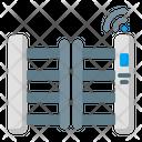 Smart Gate Ai Gate Building Icon