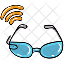 Smart Glasses Virtual Glasses Virtual Goggles Icon
