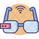Smart Glasses Smart Specs Internet Icon