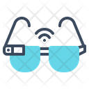 Glasses Smart Technology Icon