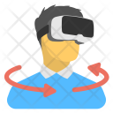 Virtual Glasses Goggles Icon