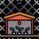 Warehouse Farm Wifi Icon