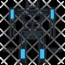 Robot Skeleton Icon