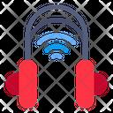 Smart Headphone Headphone Wifi Icon