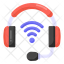 Smart Headset Smart Headphones Wireless Headset Icon
